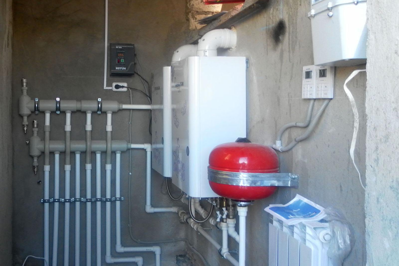 Отопление частного дома из полипропилена своими руками схемы фото
